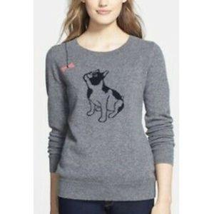 Nordstrom Halogen Cashmere Sweater Bulldog S